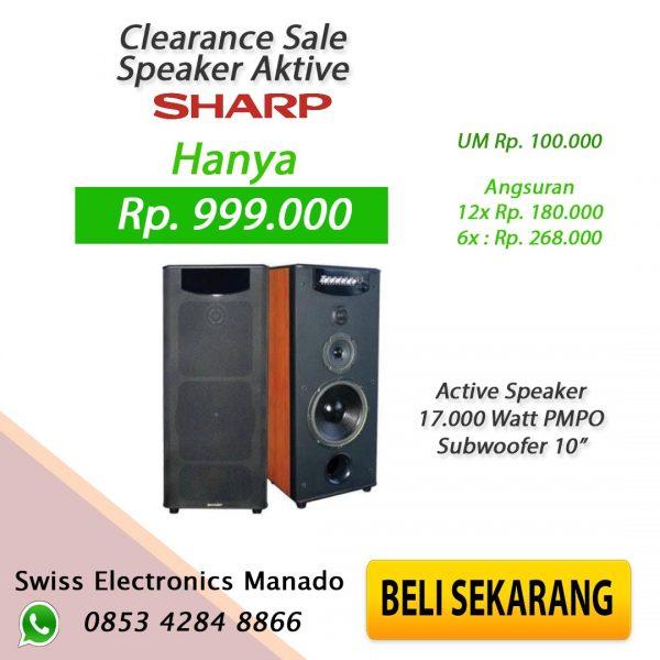 Speaker Sharp 1001U2